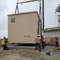 Positioning Pre-Fab Site Shelter
